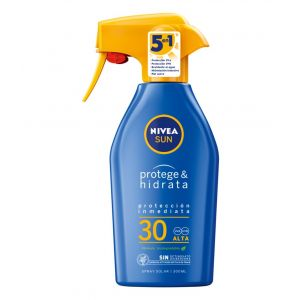 Bronceador pr-hidr f30 nivea spray 300ml