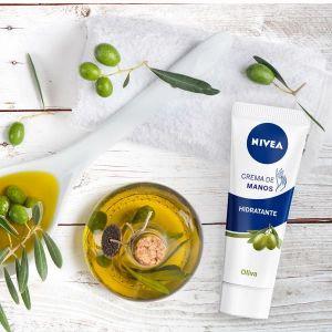 Crema de manos aceite de oliva nivea 100 ml