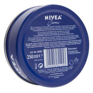 Crema hidratante creme nivea 250 ml