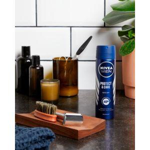 Desodorante spray para hombre protege & cuida nivea 200 ml