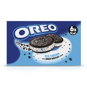 Helado mini sandwich oreo p6x55ml
