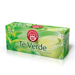 Te verde pompadour 25 sobres