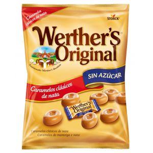 Caramelos sin azucar  werthers 90g