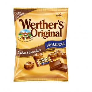 Caramelos sin azucar chocolate werthers  60g