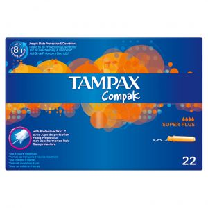 Tampon superplus compak tampax  22ud