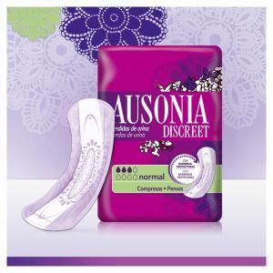 Compresas incontinencia normal ausonia discreet 12ud