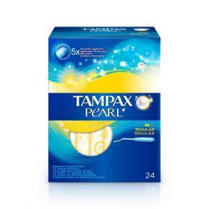 Tampon regular pearl tampax 24ud