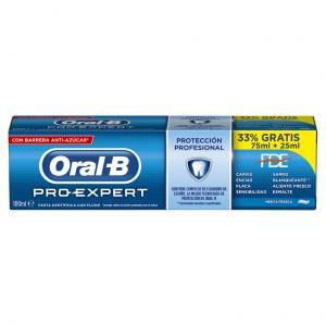 Pasta dentífrico pro expert protección profesional menta fresca 75 ml  oral-b