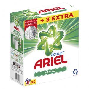 Detergente polvo estrella ariel 31 dosis 2,16 kilos