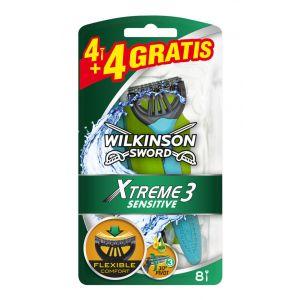 Maquinilla de afeitar wilkinson xtreme 3 sens 4+2ud