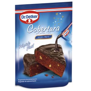 Cobertura chocolate  negro dr.oetker 100gr