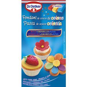 Fondant de azúcar de colores dr. oetker 300g