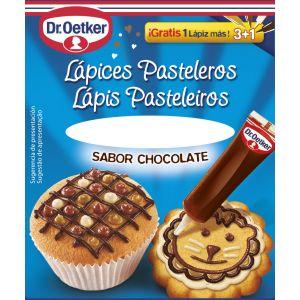 Lápices pasteleros sabor chocolate dr.oetker 57g