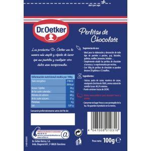Perlitas de chocolate dr.oetker 100g