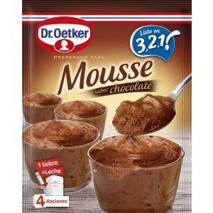 Mousse de chocolate dr.oetker 65g