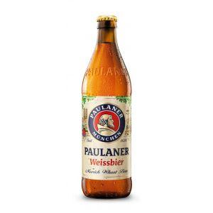 Cerveza trigo paulaner botella 50cl