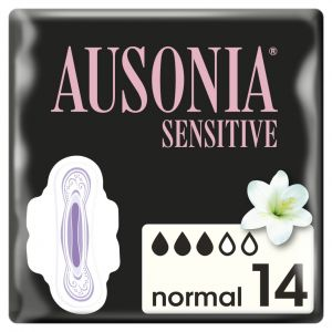Compresa alas sensitive ausonia 14ud