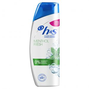 Champú menthol fresh anticaspa 270 ml h&s