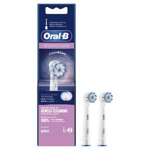 Cabezal de recambio sensitive 2 uds oral-b