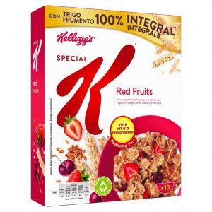 Cereales con frutos rojos special k kellogg's 300g