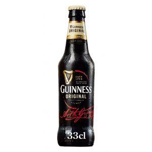 Cerveza original guinness botella 33cl