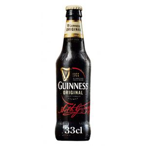 Cerveza original guinness botella 33cl