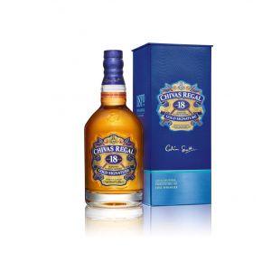 Whisky 18 años  chivas regal botella de 70cl