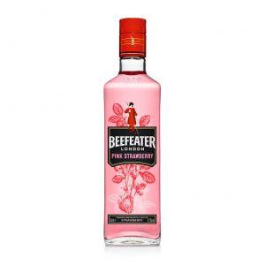 Ginebra rosa beefeater pink botella 70cl