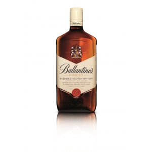 Whisky 5 años  ballantines botella de 1l