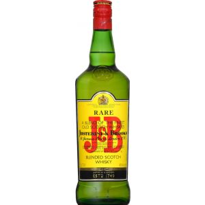 Whisky j.b. botella de 1l