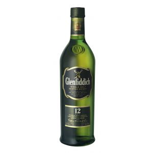 Whisky malta 12 años  glenfiddich 70 cl.