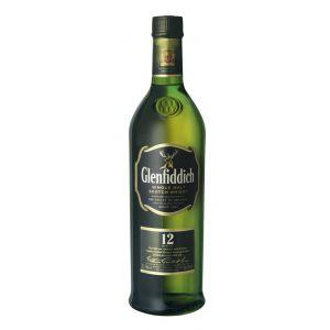 Whisky malta 12 años  glenfiddich 70 cl.