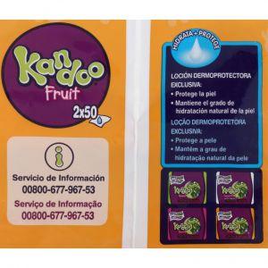 Toallitas kandoo pack de 100 unidades
