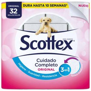 Papel higienico scottex 32 rollos