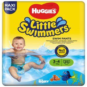 Bañador desechable t 3/4 7-15kg huggies 20ud