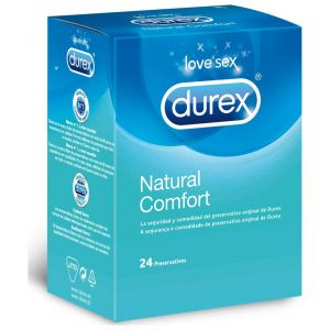 Preservativo natural confort durex 12ud