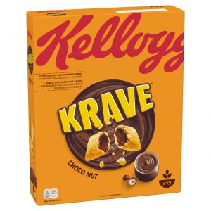 Cereales krave choco y avell. kellogg's 375g