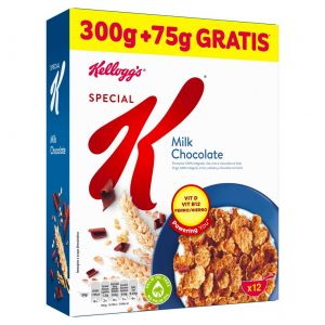 Cerales rellenos de chocolate con leche kellogg's 375g