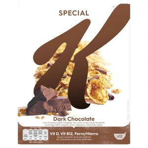 Cereales con chocolate special k kellogg's 375g