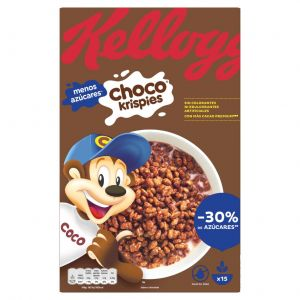 Cereales con chocolate kellogg's krispies 500g