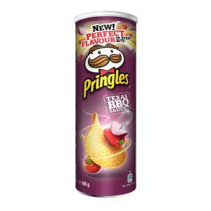 Patatas fritas extra barbacoa pringles lata 165g