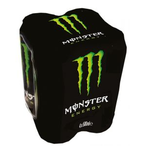 Bebida energ green  monster lata p-4 50cl