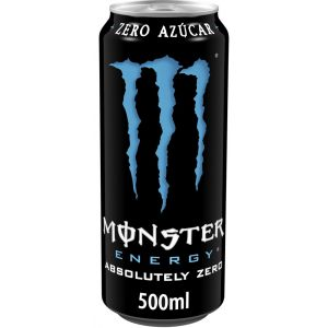 Bebida energ zero  monster lata 50cl