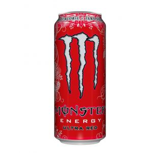 Bebida energ red  monster lata 25cl