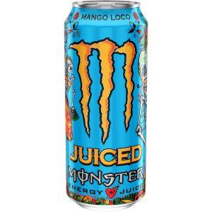 Bebida energetica mango loco monster lata 50cl