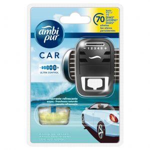 Ambientador coche aqua ambipur aparato + recambio