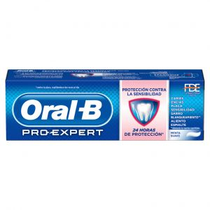 Dentifrico proteccion sensibilidad oral b 75ml