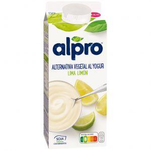 Yogur liquido lima limon alpro 750gr