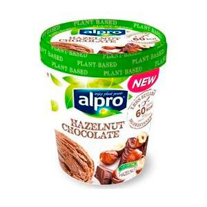 Helado avellana chocolate alpro tarrina 340gr