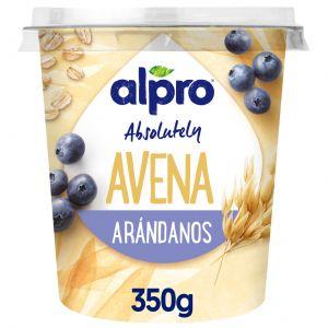 Yogur avena arandanos alpro 350gr